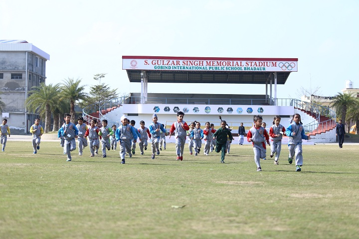 Gobind International Public School-School Ground
