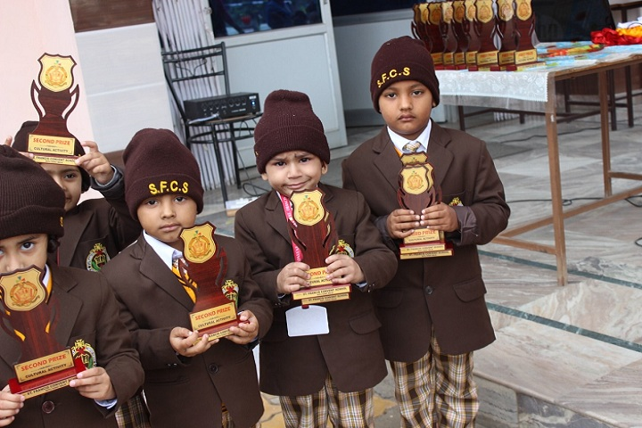 St Francis Convent School-Awards