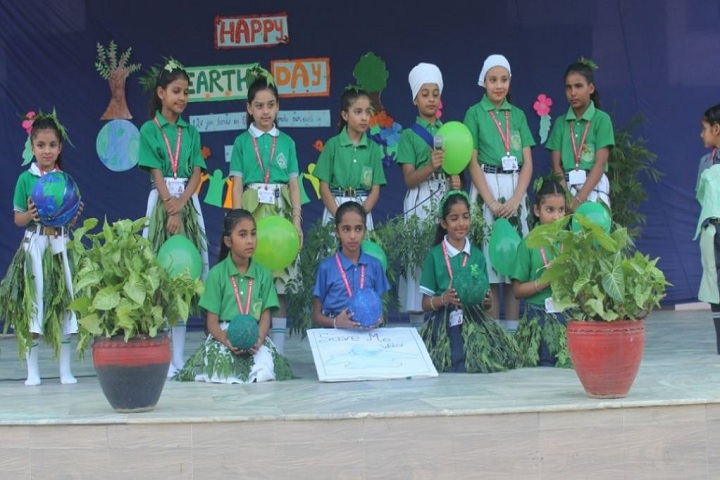 St Francis Convent School-Earth day