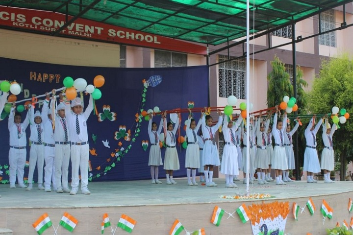 St Francis Convent School-Independance day Celebration