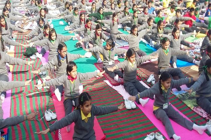 The Trinity School-Yoga Day
