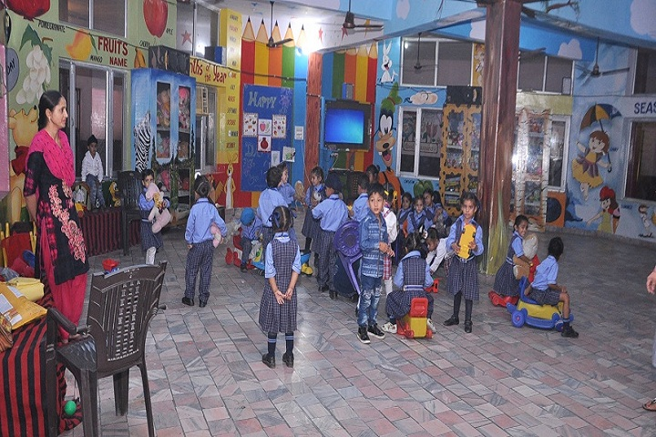 Ambrosial Public School-Activity room