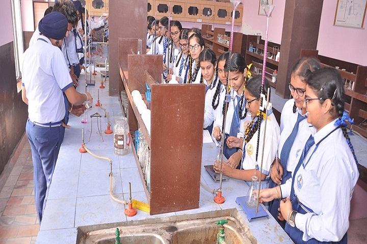 Ambrosial Public School-Chemistry Lab