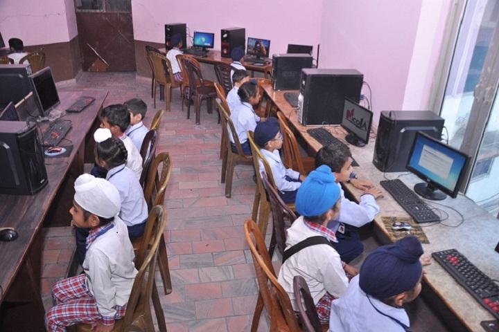 Ambrosial Public School-Computer Lab