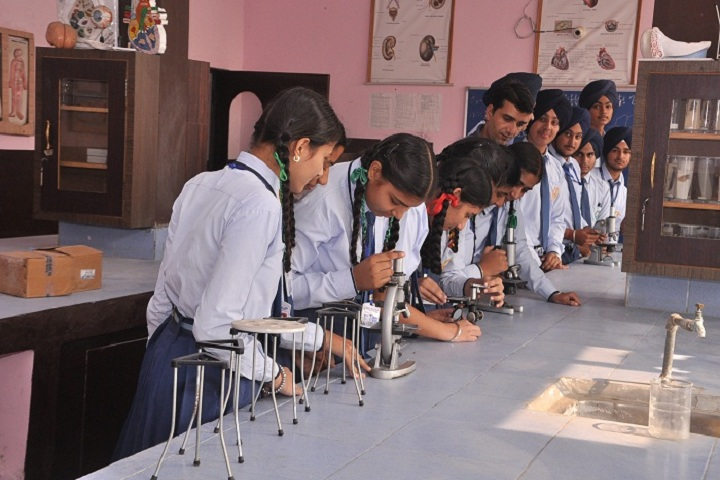 Ambrosial Public School-Science Lab