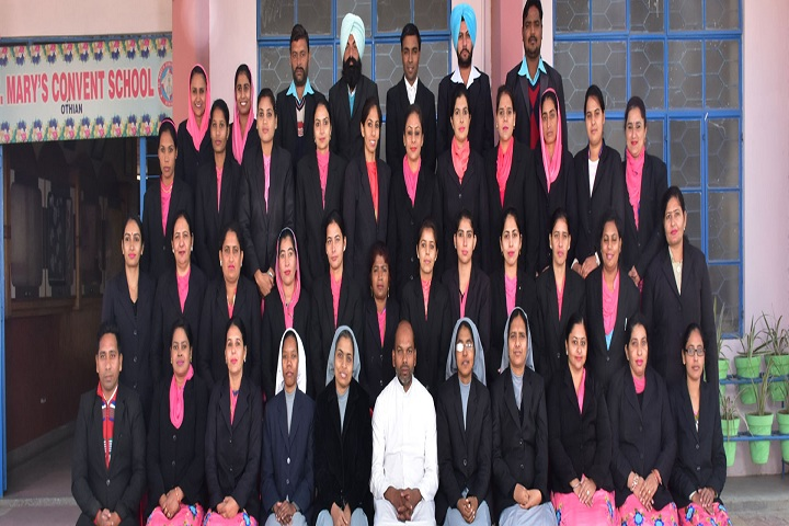 St Marys Convent School-Staff
