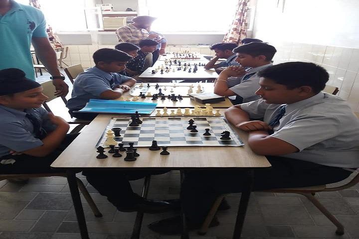 BBSB Convent School-Chess