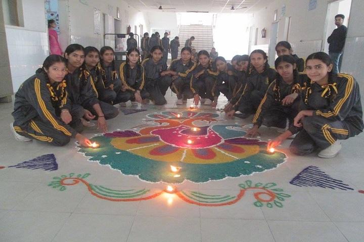 BBSB Convent School-Rangoli