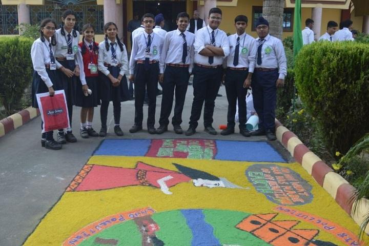 St Josephs Convent School-Rangoli