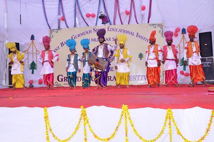 Sant Baba Gurmukh Singh International School-Cultural Dance