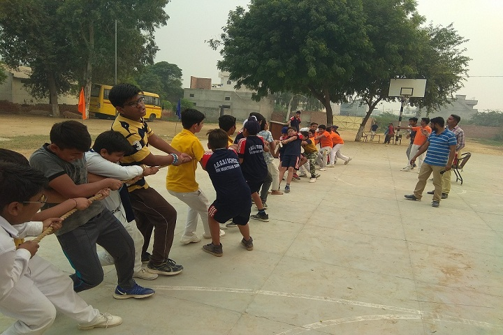 Sant Baba Gurmukh Singh International School-Tug of War