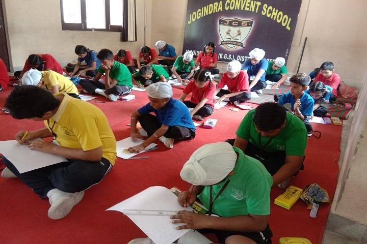 Jogindra Convent School-Drawing