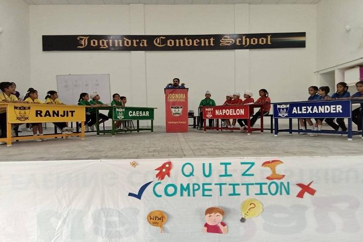 Jogindra Convent School-Quiz