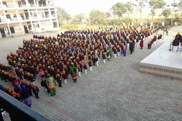 Guru Gobind Singh Convent School-Morning Assembly