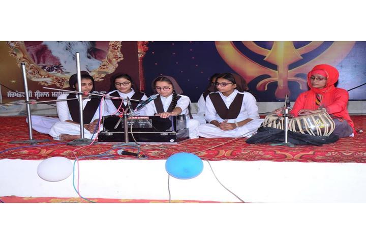 Guru Gobind Singh Convent School-Music Competition