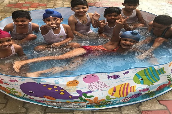 The Milestone Smart School-Splash Pool