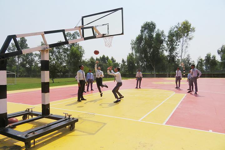 Little Flower Convent School-Basketball Court