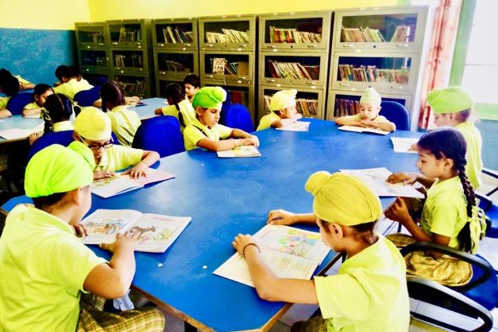 Carol Convent School-Library