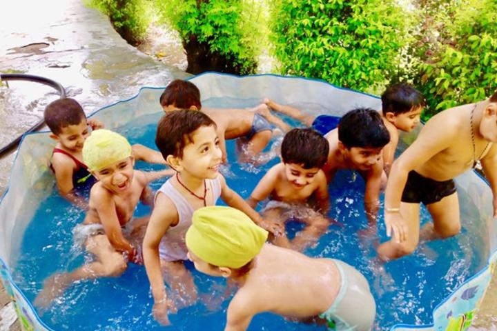 Carol Convent School-Water Splash