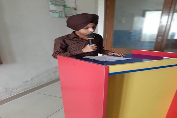 Avior Convent School-Speech