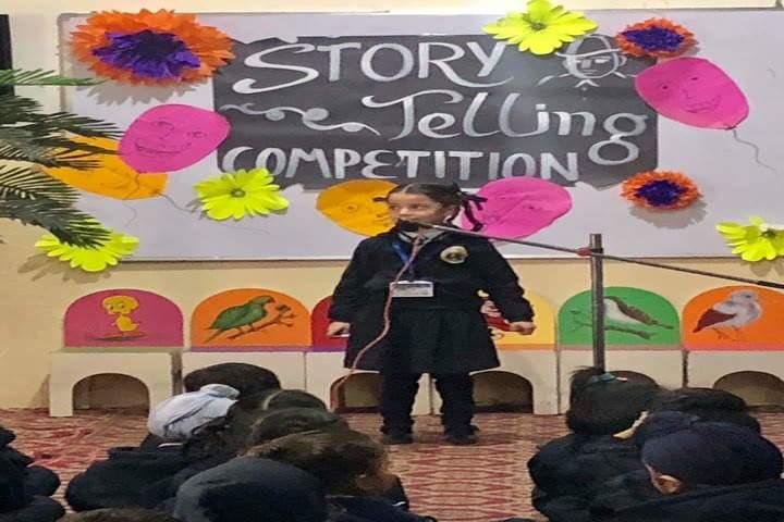 U K International School-Story Telling