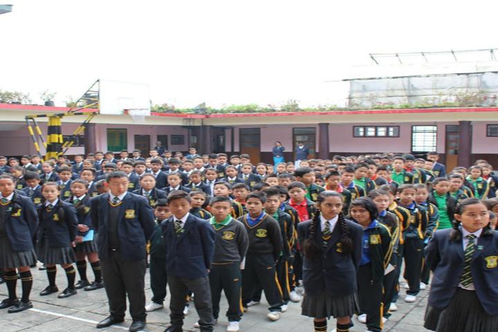 Namchi Public School-Assembly