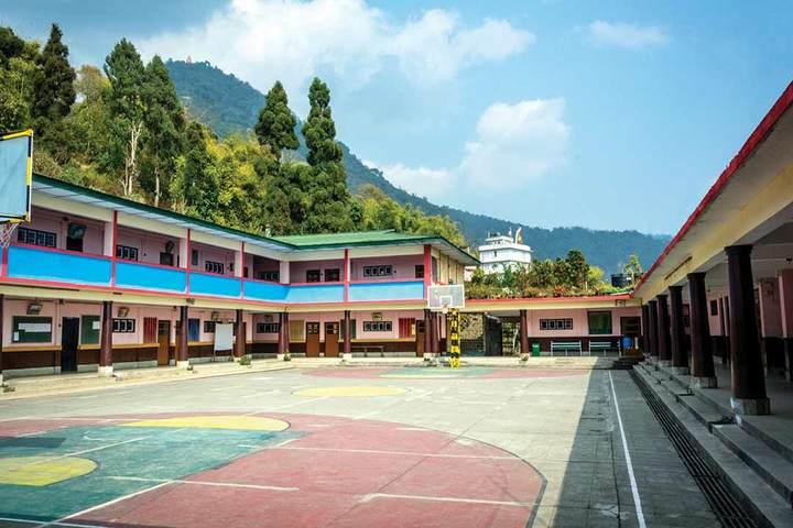 Namchi Public School-Basketball Court