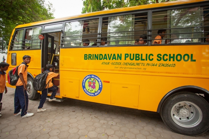 Brindavan Public School-School Transport