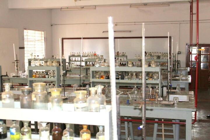 The Laidlaw Memorial School Junior College-Chemistry Lab