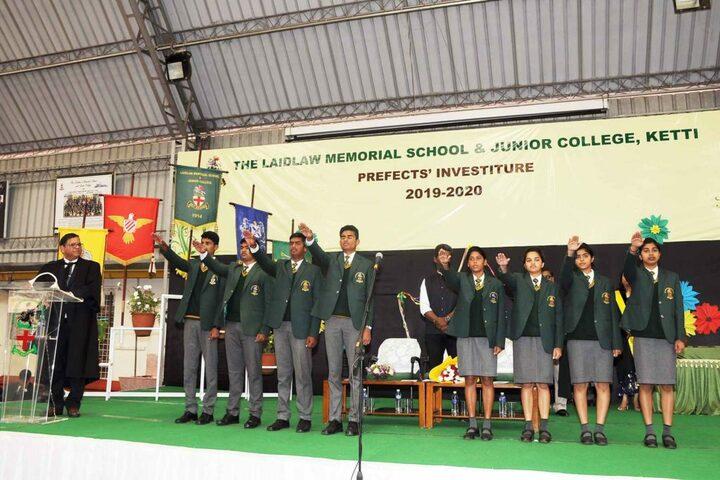The Laidlaw Memorial School Junior College-Investiture Ceremony