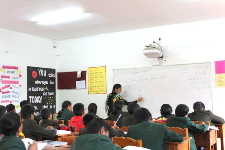 The Laidlaw Memorial School Junior College-Primary Class Room