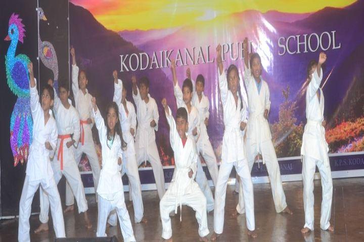 Kodaikanal Public School-Karate