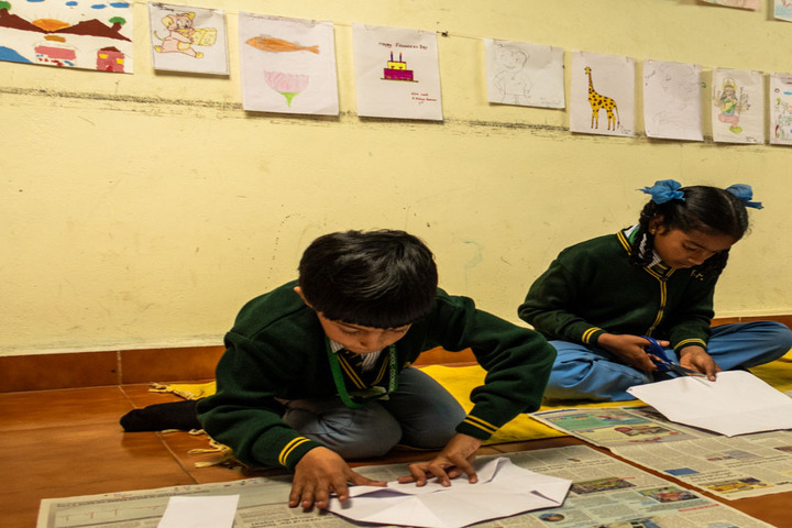 Brindavan Public School-Art and Craft