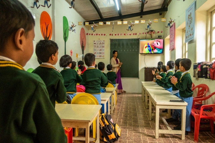 Brindavan Public School-Primary Class Room
