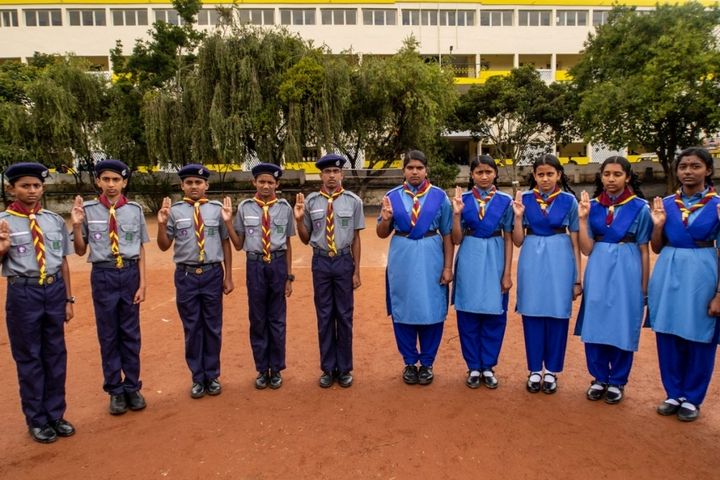 Brindavan Public School-Scouts And Guides