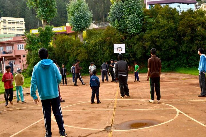 The Blue Mountains School-Basket Ball Court
