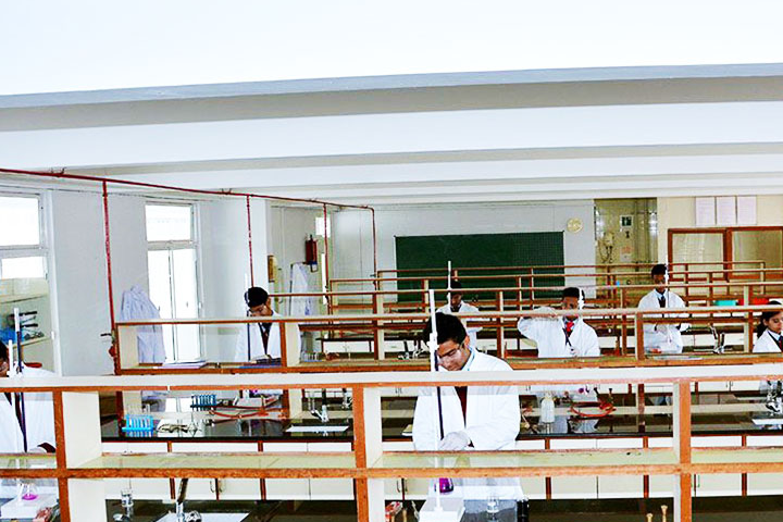Good Shepherd International School-Science Lab