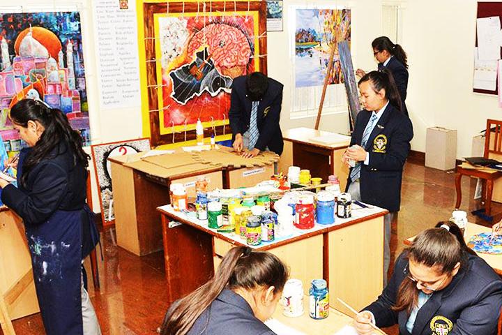 Good Shepherd International School-Visual Art Studio
