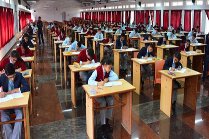 Good Shepherd International School-Exams Room
