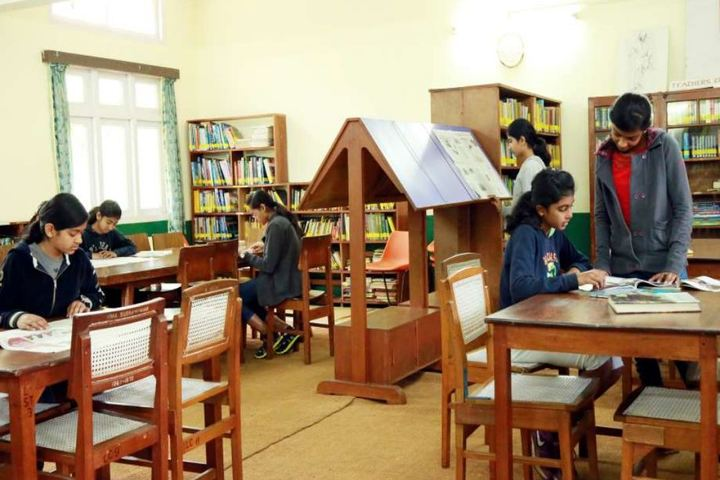 St Hildas School-Senior Library