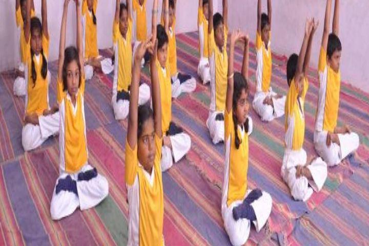 Virudhunagar T S M Manickam Nadar Janaki Ammal School-Yoga Day