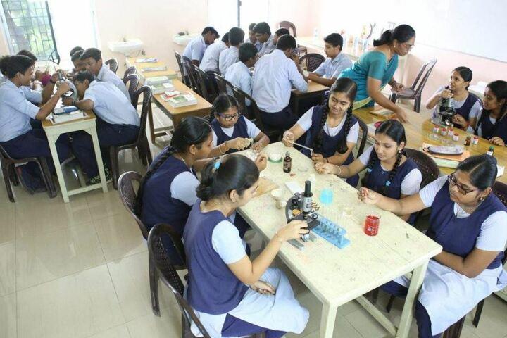 Jeevana School-Biology Lab