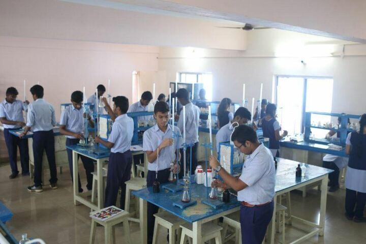 Jeevana School-Chemistry Lab