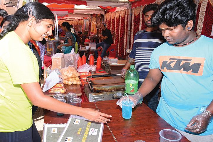 The Ashram-Food Stalls