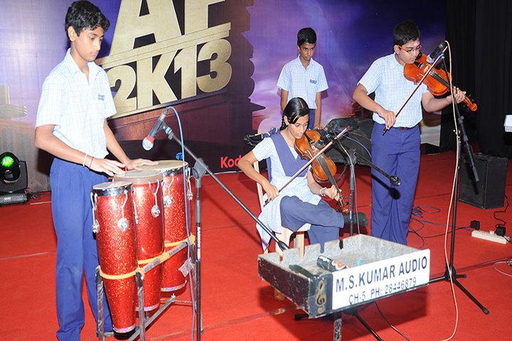 The Ashram-Music