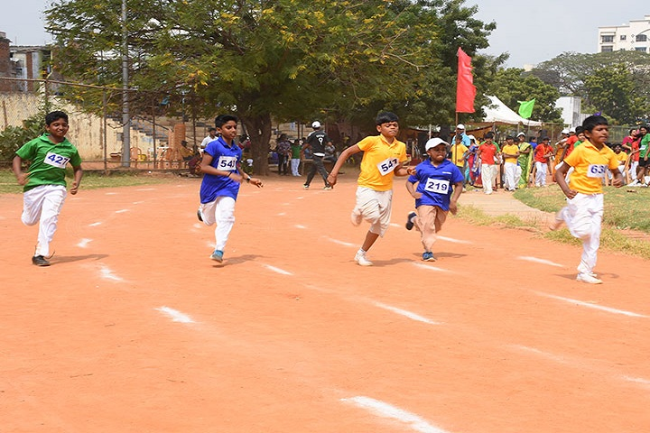 The Ashram-Sports Day Celebration