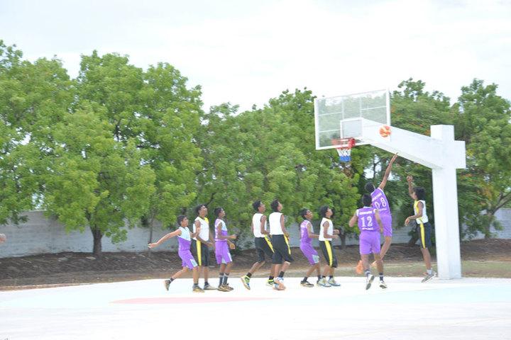 Idhayam Rajendran Residential School-Basket Ball Court