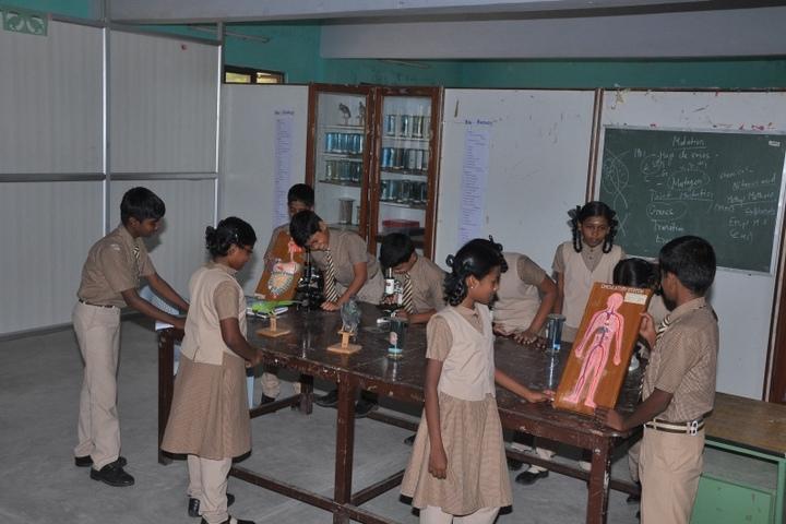 Idhayam Rajendran Residential School-Biology Lab