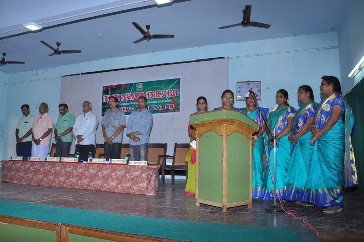 Idhayam Rajendran Residential School-Teachers Felicitation