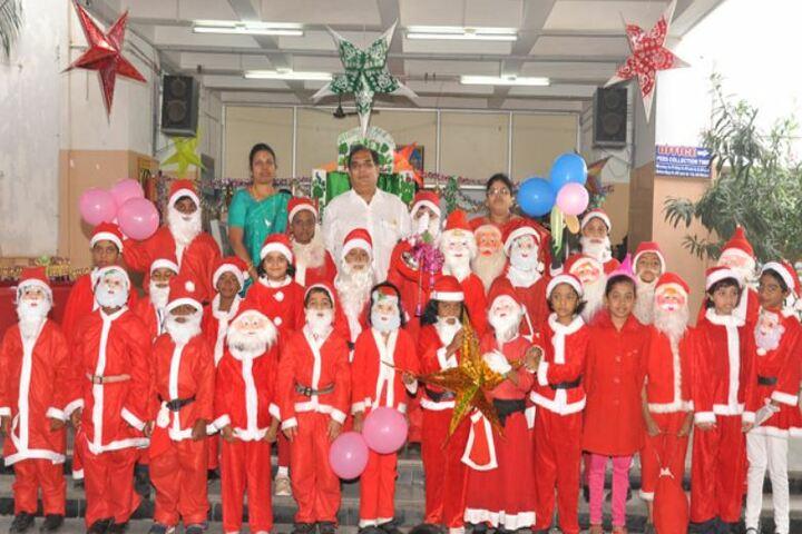 Bhagwan Mahaveer Dayaniketan Jain School-Christmas Celebration